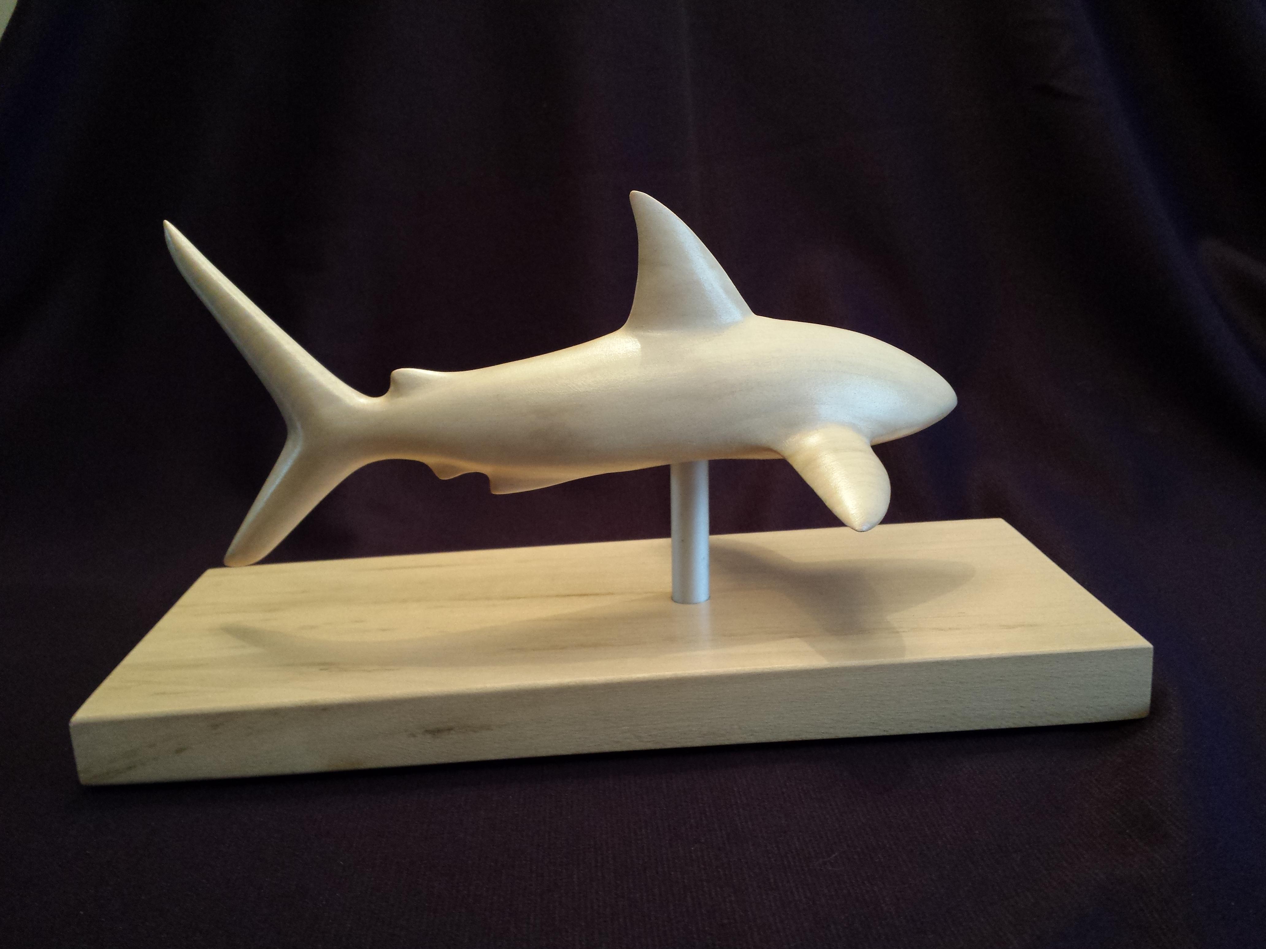 Requin st phane desdouets for Requin decoration